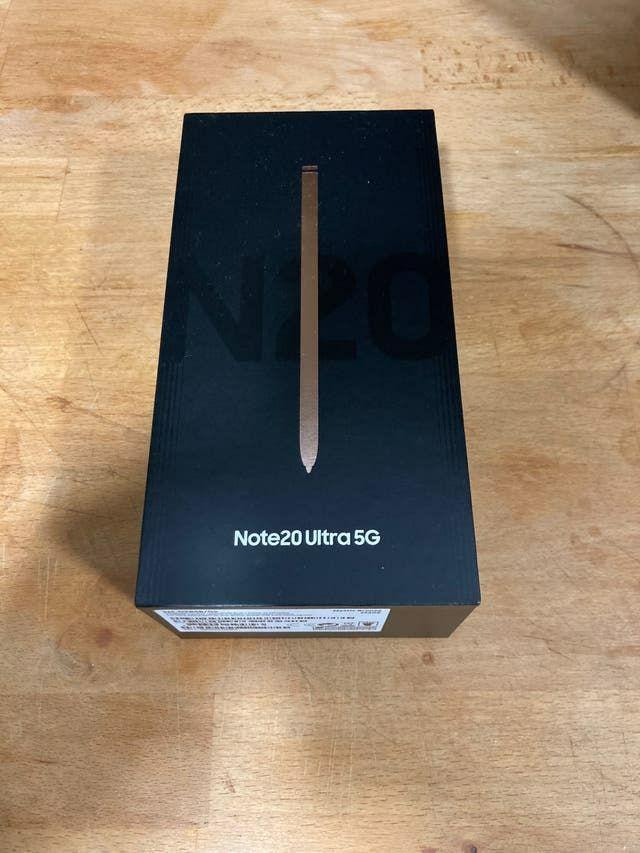 Samsung Galaxy Note 20 plus ultra