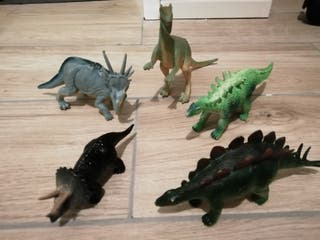 lote dinosaurios juguete
