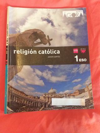 Libro Religión Primero ESO