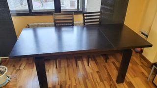 Mesa Salón+seis sillas