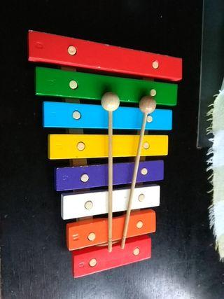 Xilófono juguete