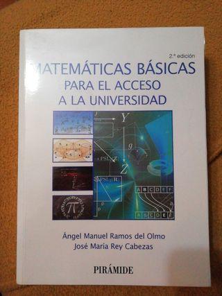 Matemáticas básicas para el acceso a la universida
