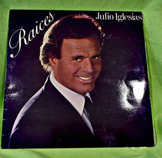 "Vinilo Julio Iglesias "" Raices """