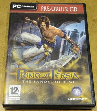 PRINCE OF PERSIA: PRE-ORDER CD SANDS OF TIME