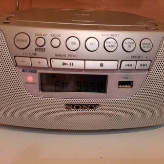 radio-CD SONY