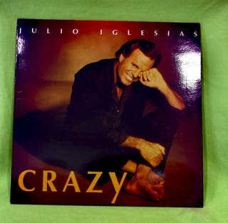 "Vinilo Julio Iglesias "" Crazy """