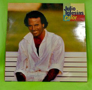 "Vinilo Julio Iglesias "" Calor """