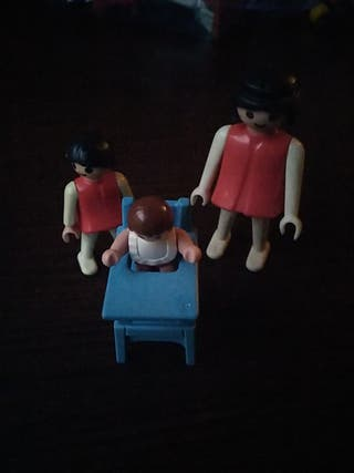 lote chicas familia playmobil
