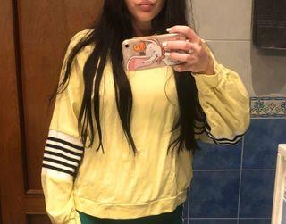 Jersey amarillo pastel
