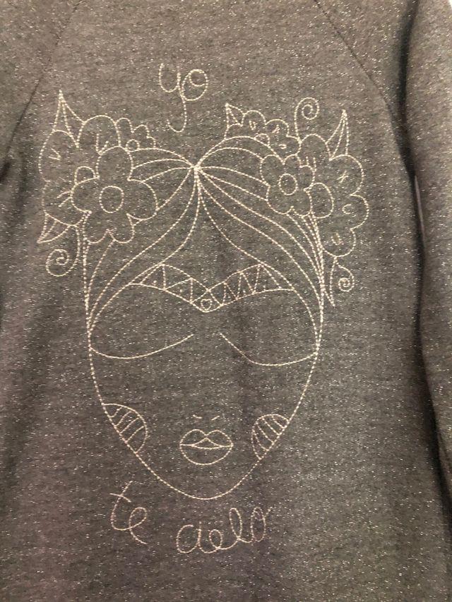 Vestido glitter Frida Aire retro S