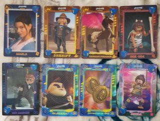 Lote 8 cartas playmobil
