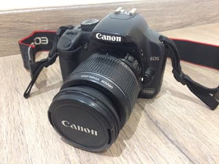 Cámara fotos reflex Canon EOS450D