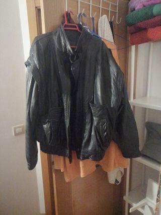 """chaqueta de cuero. """"Genaro"""""""