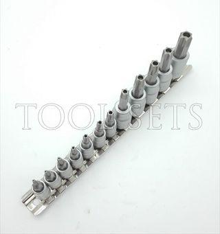 Juego llaves Torx de seguridad (12 piezas).