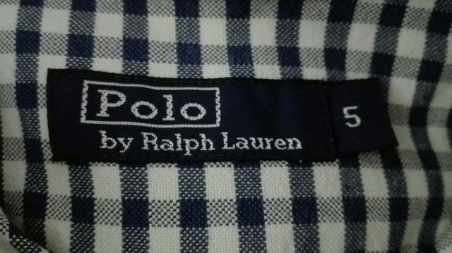 Preciosa camisa niño Polo Ralph Lauren, talla 5