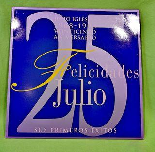 "Vinilo Julio Iglesias "" Felicidades Julio """