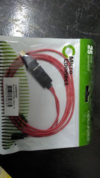 cable HDMI micro USB