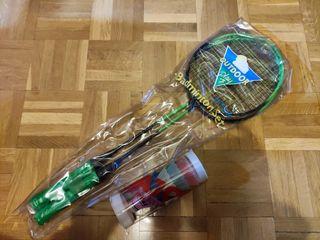 Set de raquetas de bádminton y pelotas