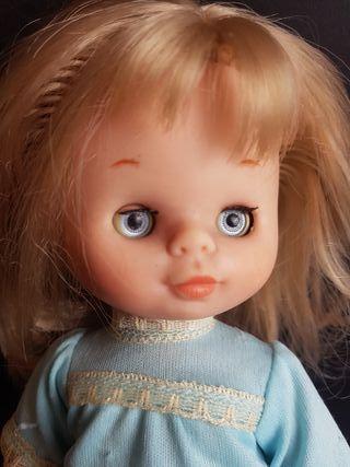 muñeca mimita de famosa ojos margarita