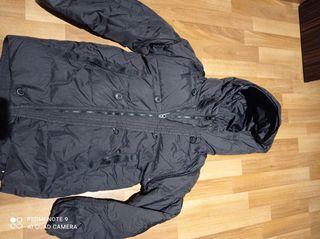 chaqueta invierno.talla 9-10. de pluma natural
