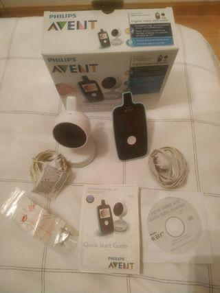 Philips Avent SCD603/00 - Vigilabebés con cámara,