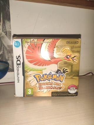 Pokémon Edición Oro HeartGold Nds