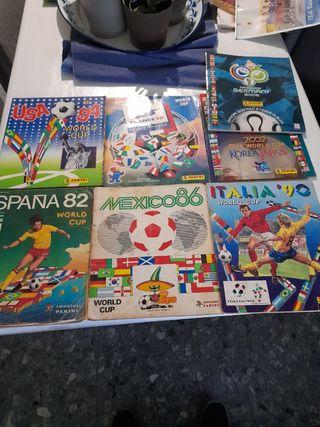Álbumes Mundiales Futbol Panini