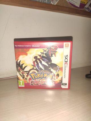 Pokémon Rubí Omega 3ds