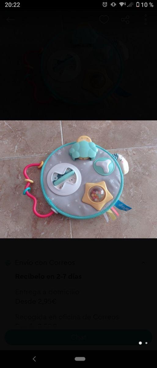 centro de actividades bebé