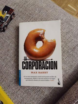 libro LA CORPORACIÓN DE MAX BARRY