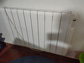 Radiador calor azul electrico