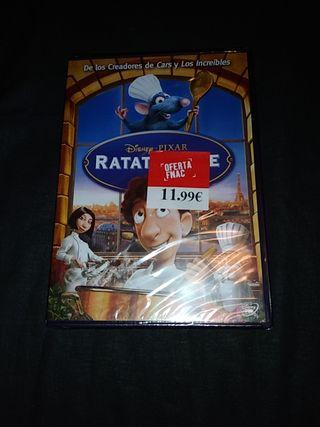 DVD Ratatouille.