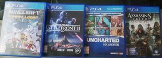 Pack de Juegos PS4