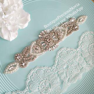 Oferta ! Aplique Cinturón para vestido de novia