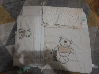 bedding for cot and moses basket incl accessories