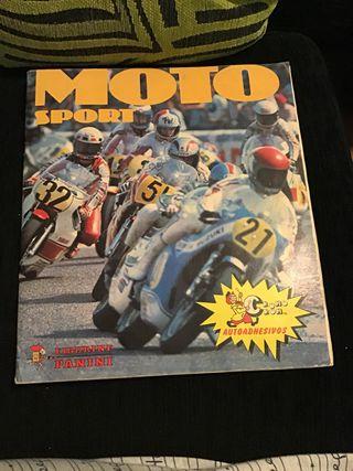 Álbum de cromos moto sport 1980