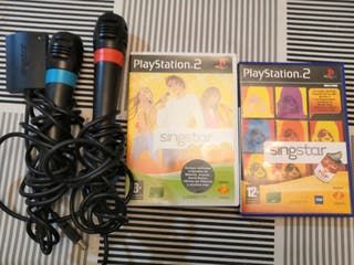 Pack sing star ps2