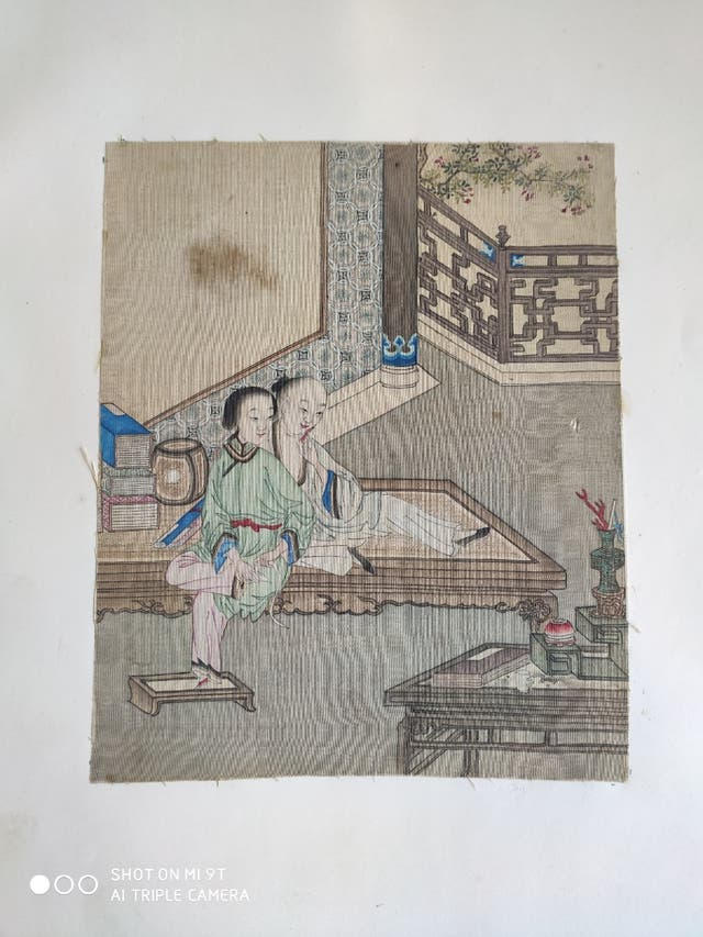 Aquarelles chinoises érotiques XIXème