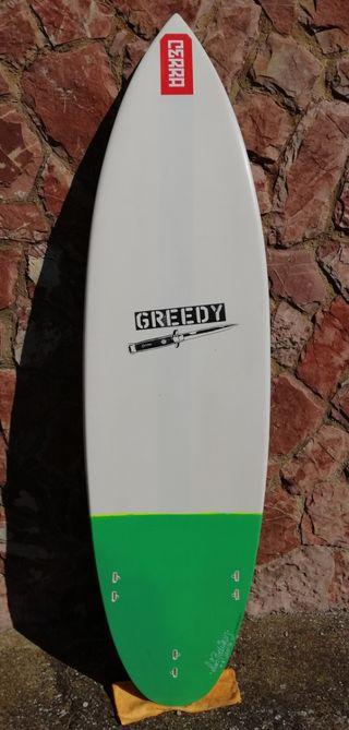 Tabla de surf Greedy Surfboards 6.0