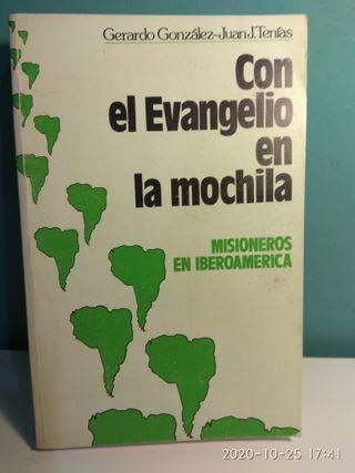 """LIBRO """"CON EL EVANGELIO EN LA MOCHILA"""""""