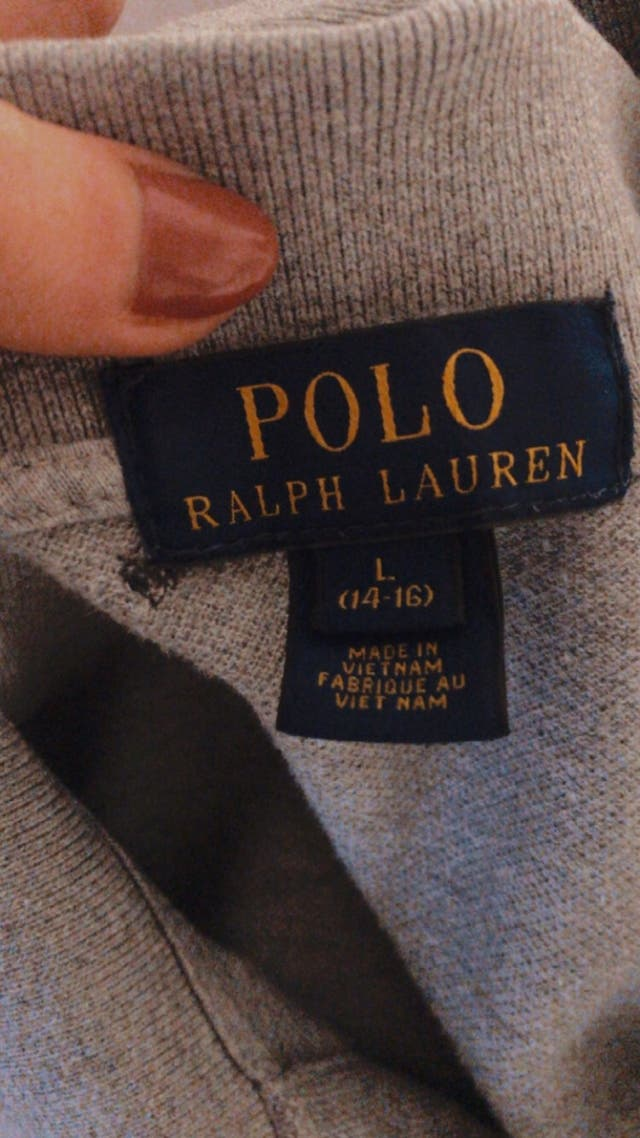 Polo ralph Lauren gris