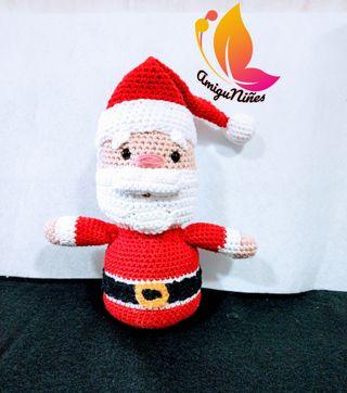 Amigurumi Papá Noel Navidad