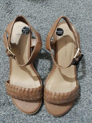 Sandles size 3 widefit