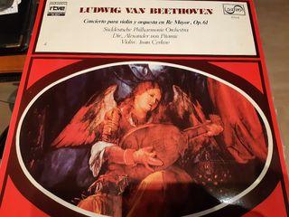 LP BEETHOVEN, Concierto violin y orquesta Re Mayor