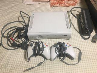 Consola XBox 360 original más Vídeojuegos