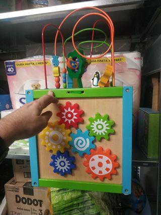 caja de juegos estimulación niños
