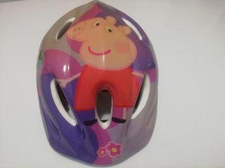 Casco para bici Peppa Pig