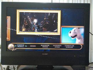 LCD Sharp 32 pulg HD Ready con defecto. Televisor
