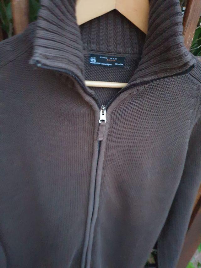 Jersey chaqueta punto Zara Men