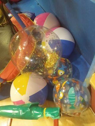 Bolas de plástico grandes